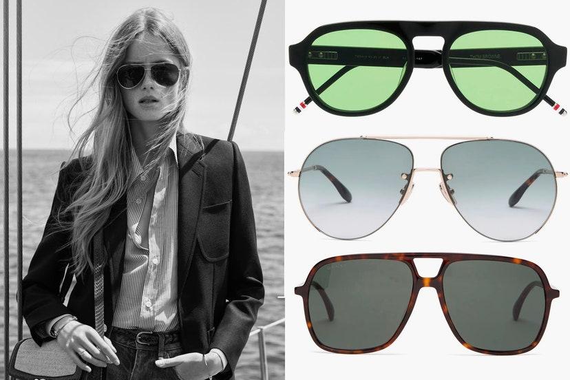 Самые трендовые солнцезащитные очки сезона