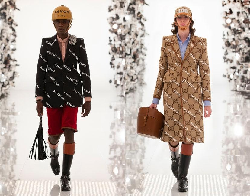Шоу века — как прошел показ Gucci в честь столетия модного Дома
