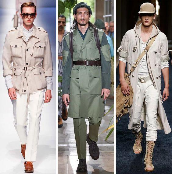 Летние тренды мужской моды