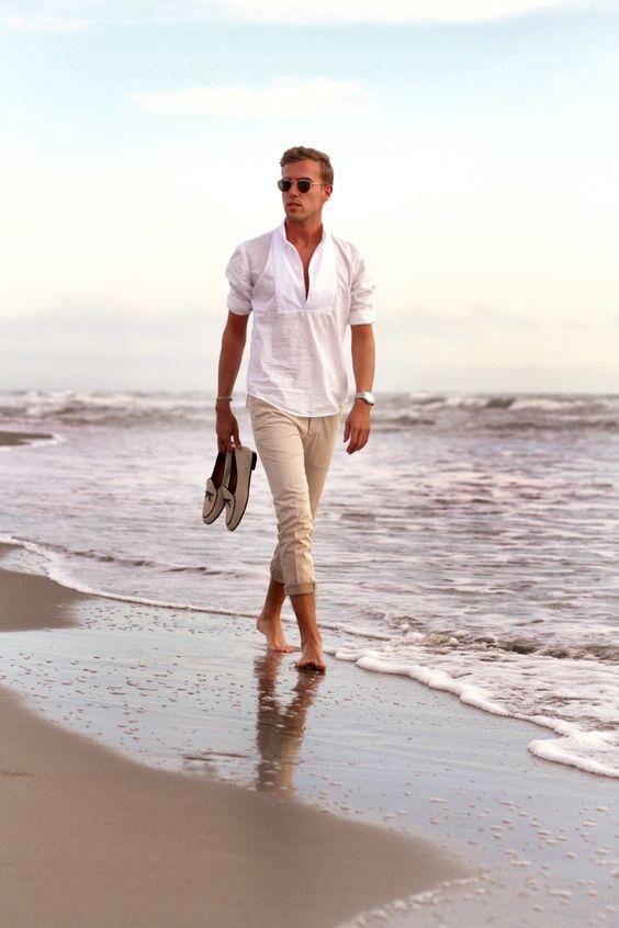 Как одеваться на пляж мужчине
