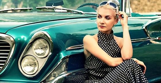 Аксессуары модной автоледи